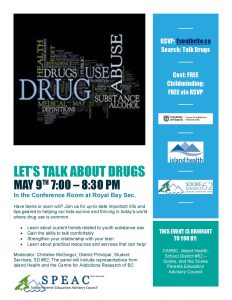 20170509 Lets Talk About Drugs
