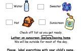 Elementary Fun Day Checklist