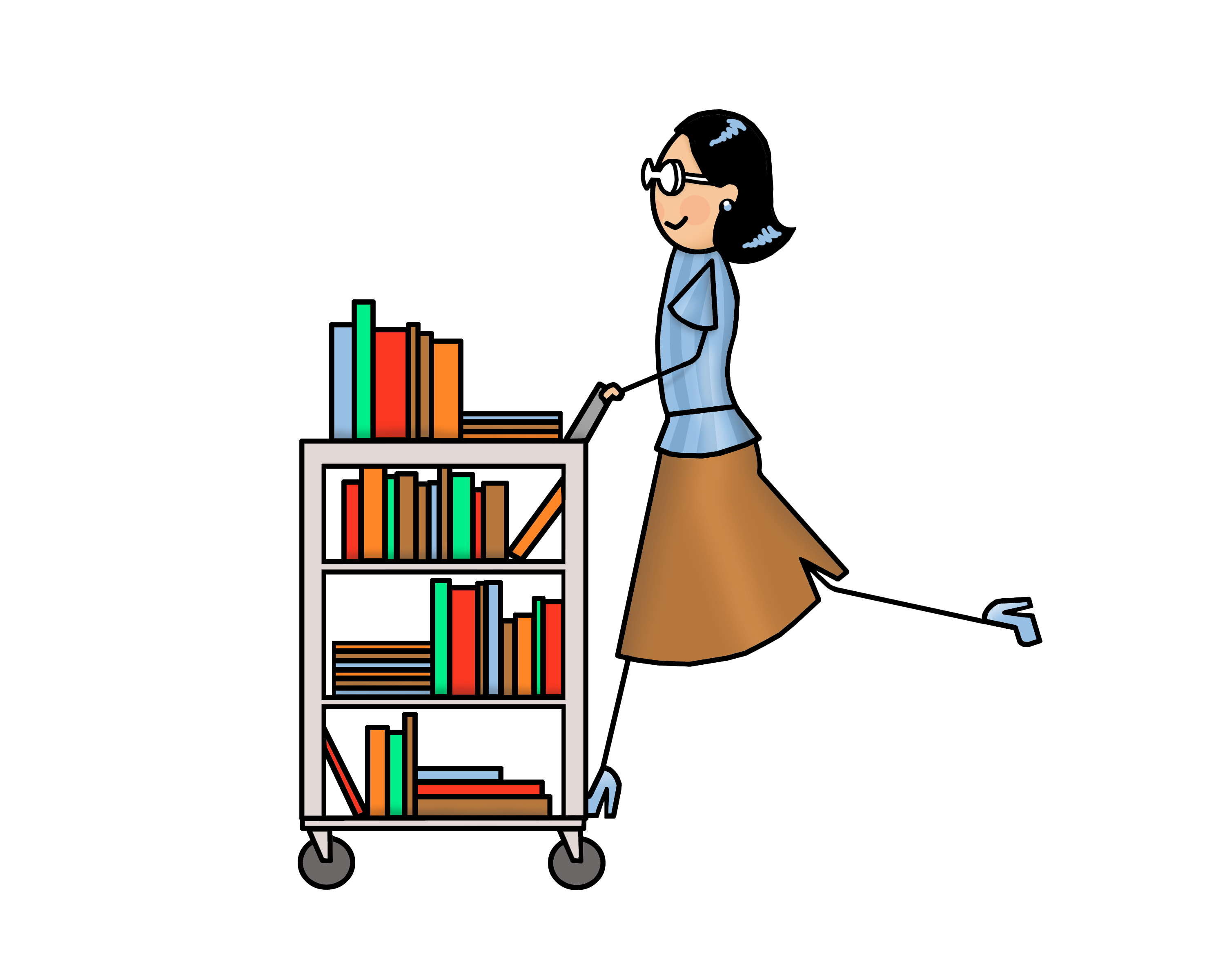 Please return all Library Books this week!